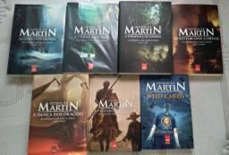 Coleção Game of Thrones (6 livros + Brinde)