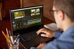Editor de vídeos, criação de canal youtube, vídeos para redes sócias!