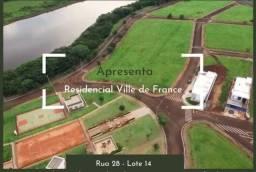 Vislumbre sua casa nova neste privilegiado lote no Res. Ville de France - Ourinhos/SP