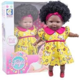 Título do anúncio: Linda boneca Afro reborn