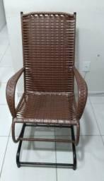 Cadeira Balanço Com Mola Texas Fibra