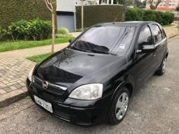 1.500,00 + 60X599,00 / Corsa Hatch Premium 1.4 2009 Completo Preto