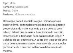 Box + Colchão QUEEN SIZE