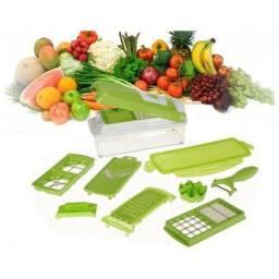 Cortador e fatiador de legumes.