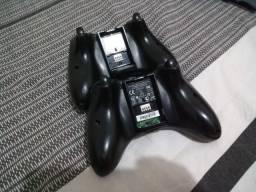 2 controle e 1 HD de xbox 360