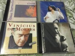 CDs diversos originais e usados (preço por unidade)