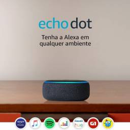 Título do anúncio: Echo Dot 3 - Lacrado Cor Preta