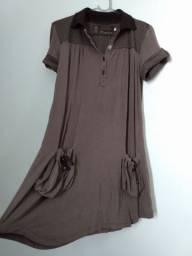 Vestido zinco