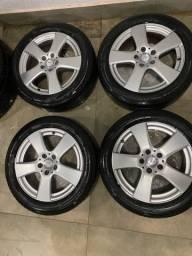 Título do anúncio: Rodas da Mercedes Aro 17 C200 / C180