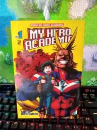 Boku no Hero Academia Mangá 1