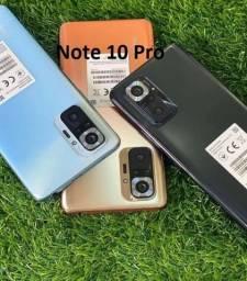 Título do anúncio: Note 10 Pro Preto/Azul/Bronze 6+128Gb India 64MP Câmera