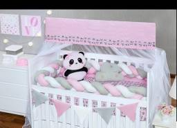 Título do anúncio: Kit berço completo panda ?