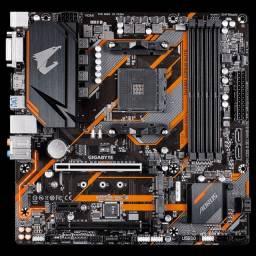 Título do anúncio: Kit Gigabyte B450 - 16gb - Ryzen 5 3500x - Entrego e Aceito Cartôes