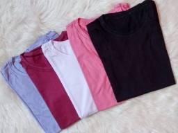 Título do anúncio: Tshirt blusa feminina 100% algodão