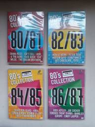 Coleção 4 DVD originais 80's Collection