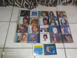 Coleção original de cds do rei Roberto Carlos