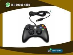 Título do anúncio: Controle Com Fio Xbox 360 Pc Computador 2 Metros Cabo Usb