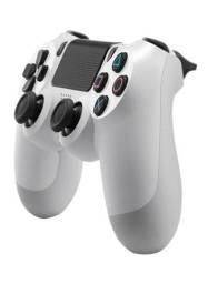 Controle PS4 Dualshock 4 branco novo na caixa + brinde