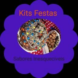 Kits festas, bolos de pote, mousse, bolos tradicionais e bolos confeitados