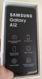 Smartphone Samsung Galaxy A12 64gb. Nunca Usado. NF. Garantia