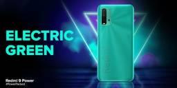 Redmi 9 Power Verde/ Azul/Preto 4+64gb