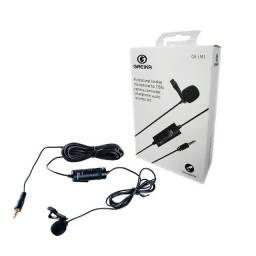 Título do anúncio: Microfone de Lapela Greika GK-LM1 (NFe + Garantia)