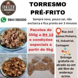 Torresmo Pré-frito (Prático, Novinho, Crocante)