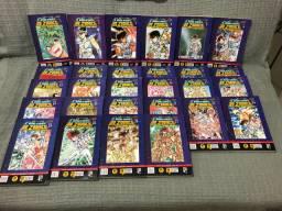 Coleção mangás CDZ - 3a edição JBC - 28 volumes