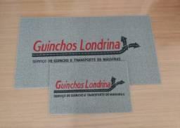 Atendemos Londrina e Região!! Capachos personalizados para empresas