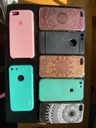 Título do anúncio: 7 Capinhas para Iphone 8 Apple