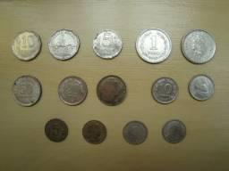 Moedas Argentinas Antigas para colecionador