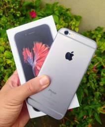 IPHONE 6S 32GB EXTRA COMPLETO (VENDO OU TROCO)