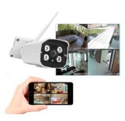 Câmera Segurança IP para uso Interno ou Externo à prova d'água