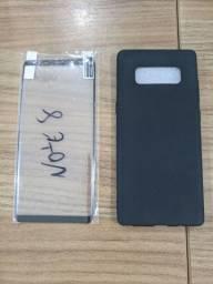 Título do anúncio: Capa e película Galaxy Note 8