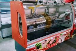 Expoositores de carne vertical e horizontal