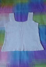 Blusa de Crochê ( LEIA )