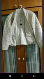 Jaqueta de couro 100%