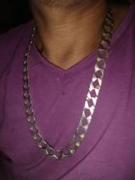 Vendo cordão de prata top