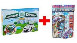 Título do anúncio: 2 jogos: Administrando seu dinheiro & Imobiliário