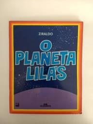 livro O Planeta Lilás - Ziraldo