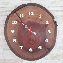 Relógio Rústico Parede