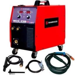 Máquina de Solda Tig / Mig / Eletrodo Multiprocesso MTE 210 Plus Bambozzi
