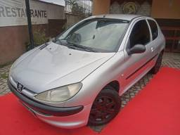 Peugeot 206 1.0, completo, ano 2002!