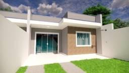 Casas com 3 quartos e 2 banheiros a venda - 72,2m² - Balneário Gaivotas/PR