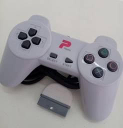 Título do anúncio: Controle Branco Playstation 1 Novo Na Caixa Players