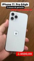 Título do anúncio: iPhone 11 Pro 64gb Silver