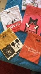 Título do anúncio: T-Shirts em promoção