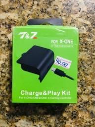 Bateria E carregador P/ Controle de Xbox One