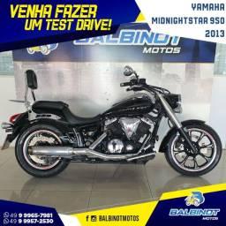 Título do anúncio: Yamaha XVS MidnightStar 950 2013 Preta