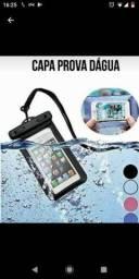 Capinha de celular para chuva